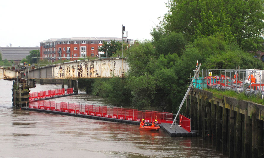 Selby Swing Bridge Refurbishment