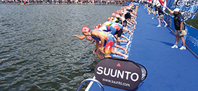 World Triathlon Swim Platform – London