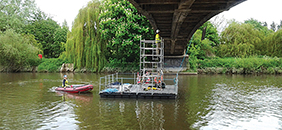 Working Platform for Tower Scaffold, Bridge Inspection Works